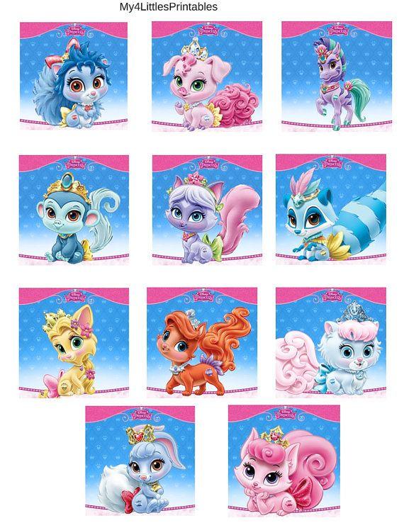 Disney Princess Palace Pets birthday by My4LittlesPrintables