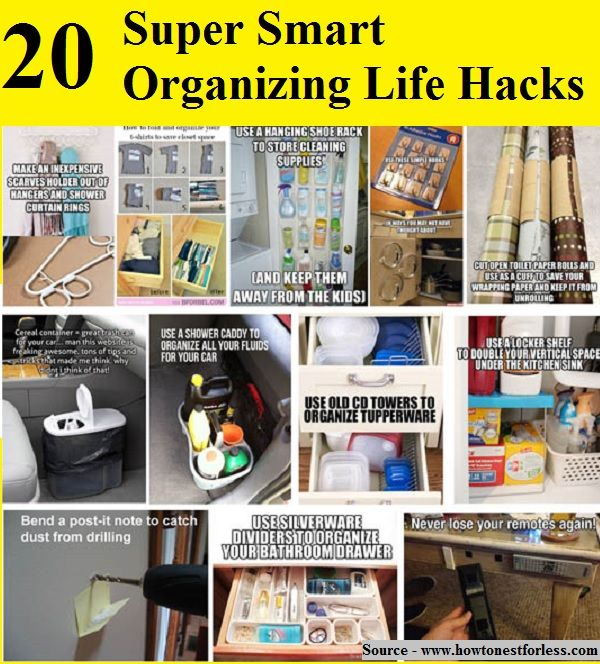 Life Hacks How To Declutter For A Better Life: 17 Best Images About Organizing On Pinterest