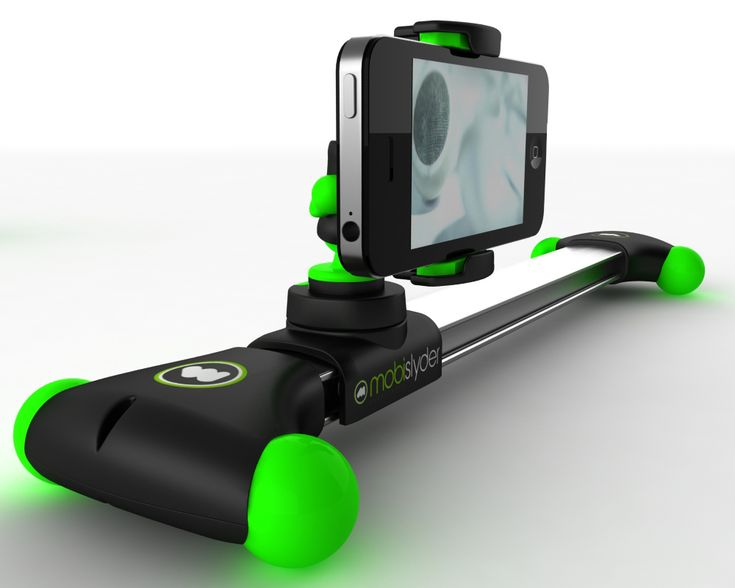 mobislyder is a compact ultraportable camera slider that will allow you to create captivating cinematic videos using your portable video device.