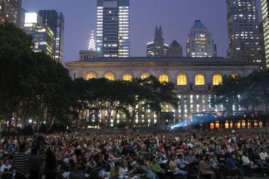 Movies in the park: Outdoor screenings in New York City