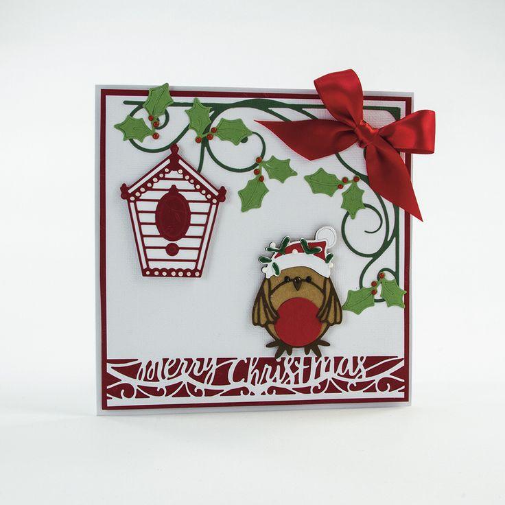 Rococo Petite Christmas - Festive Robin - 1379E