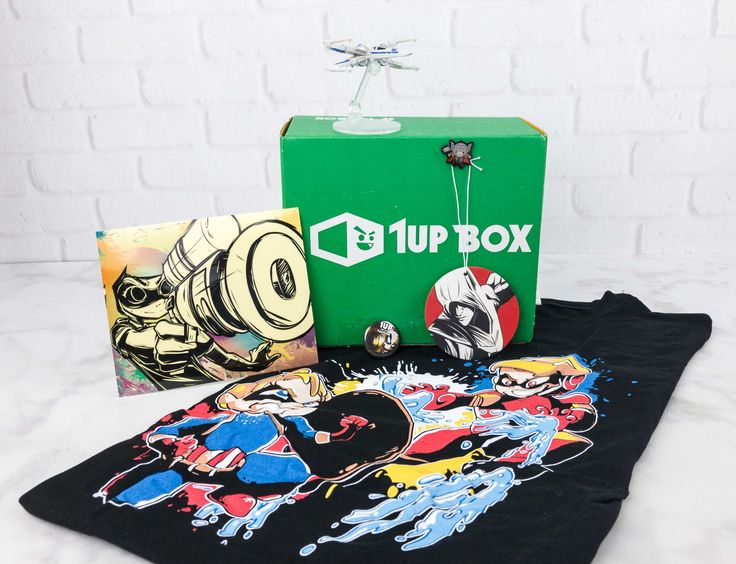 1 Up Box is a geek and gamer subscription. July 2017 theme is FACTION! Here's the review + coupon code!   1Up Box July 2017 Subscription Box Review + Coupon →  https://hellosubscription.com/2017/07/1up-box-july-2017-subscription-box-review-coupon #1UpBox  #subscriptionbox