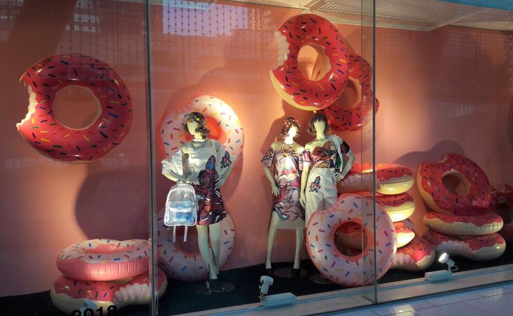 "ZEN DEPARTMENT STORE, Bangkok, Thailand, ""DONUTS: Is there anything they can't do?"", photo by Joy Ly, pinned by Ton van der Veer"