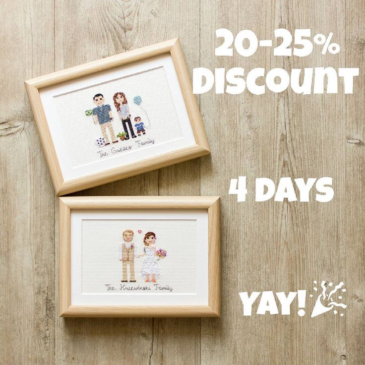 We still celebrate our 2nd birthday🎉🎂 Special 20% discount for everybody (and 25% off for our repeat customers) work till October, 8! It's a great opportunity to order Christmas gifts sooner than later. And cheaper than the more expensive.😊 To get 20% off use coupon code 'HAPPYBDAY2017' in my Etsy shop.☺And to get 25% discount, please DM me here.