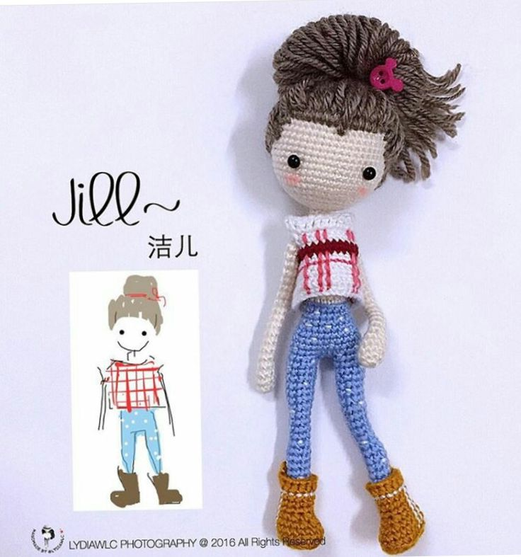 Amigurumi Basic Doll : 17 Best images about Crochet Doll Inspiration on Pinterest ...