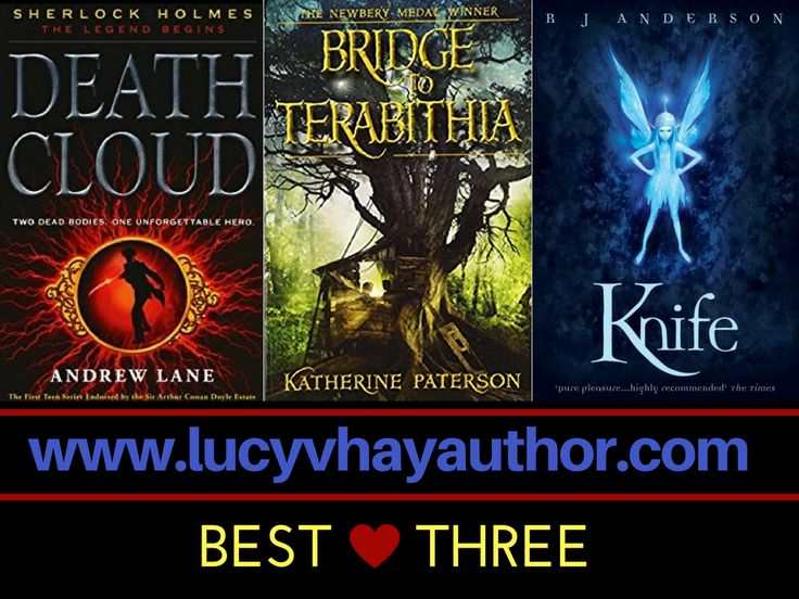 BEST OF 3: Richard Dee, Author   Lucy V Hay