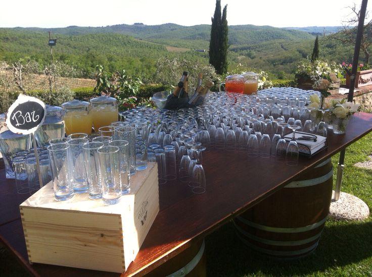 Drink corner - Class Ricevimenti - Castello di Meleto
