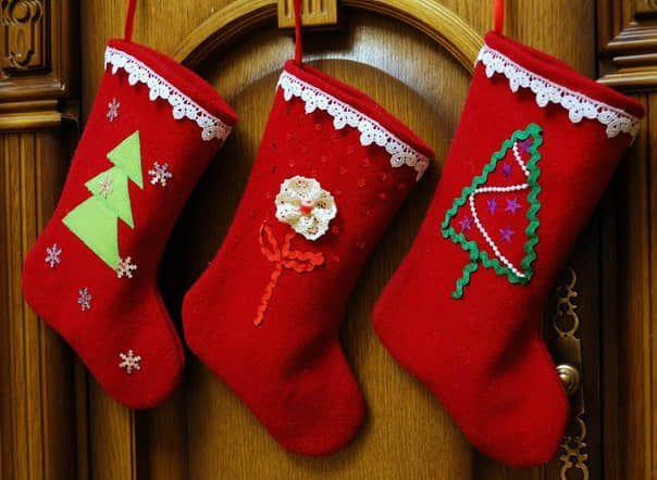 Moldes para hacer botas navideñas de fieltro gratis20