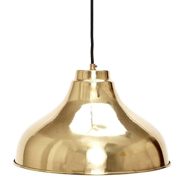 Pendant brass taklampa
