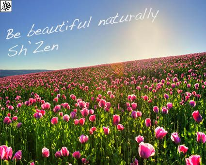 """The name Sh'Zen means """"natural"""" in Japenese and reflects our philosophy and simple approach to beauty. Carefully selected essential oils and plant extracts to formulate therapeutic blends that promote harmony for not only your skin and body, but for the mind and spirit as well."""