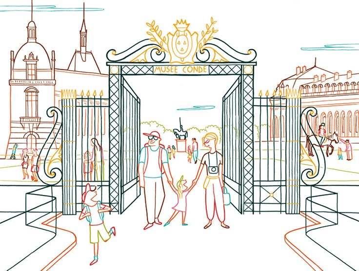 Federica Del Proposto / I LOVE DRAWING FOR / DOMAINE DE CHANTILLY