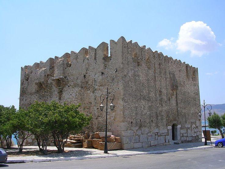 Bourtzi castle Karystos, Greece