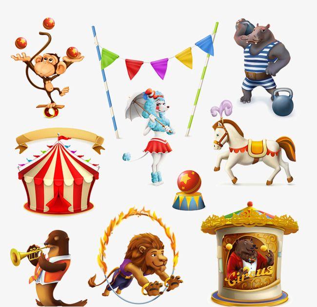 Images D Animaux De Cirque Clipart De Cirque Clipart Animal Singes Jouant Au Ballon Fichier Png Et Psd Pour Le Telechargement Libre Circus Animals Circus Lion Animal Clipart