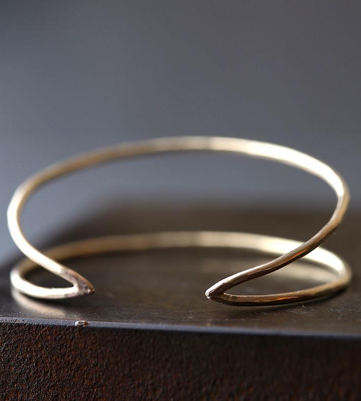 Arrow Gold Cuff Bracelet | Jewelry Bracelets | Alexis Russell | Scoutmob Shoppe | $100