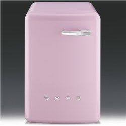 Smeg WMFABRO1 50s Style 5kg 1600rpm Freestanding Washing Machine - Pink