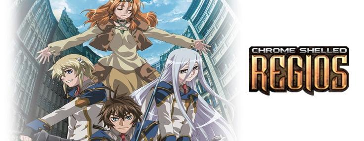 chrome shelled regios anime review