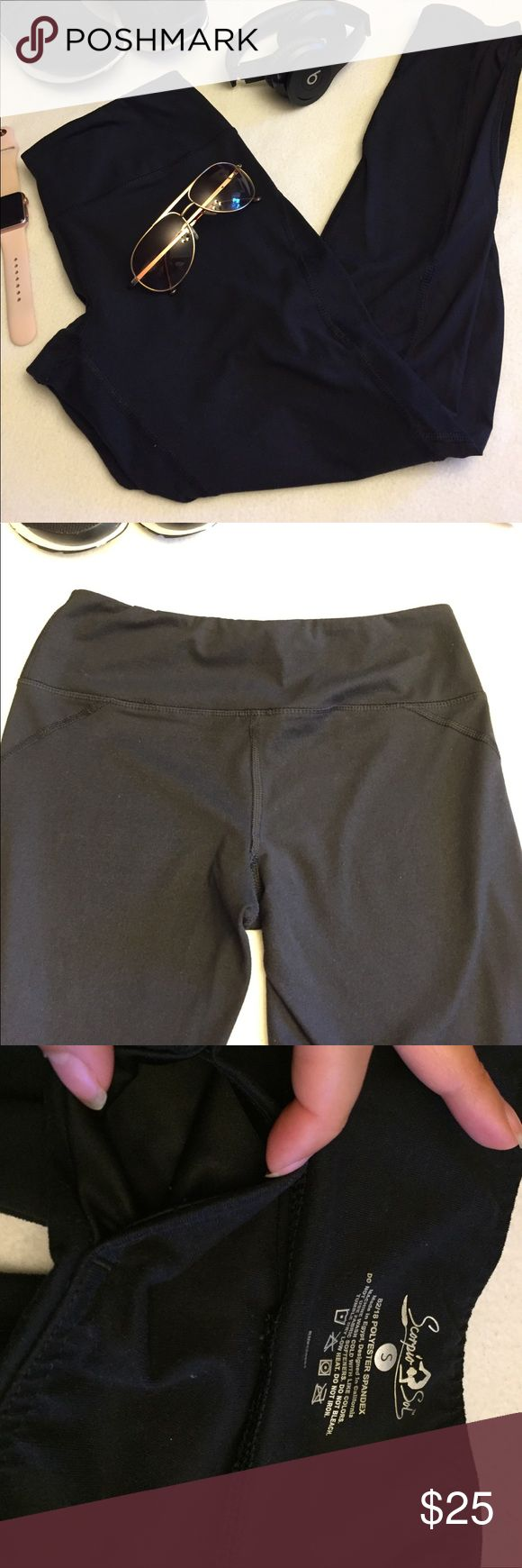 Sheer Scorpio Sol size small Super cute sheer sides of legs spandex pants super cute. Never worn. No tags attached scorpio sol Pants Leggings
