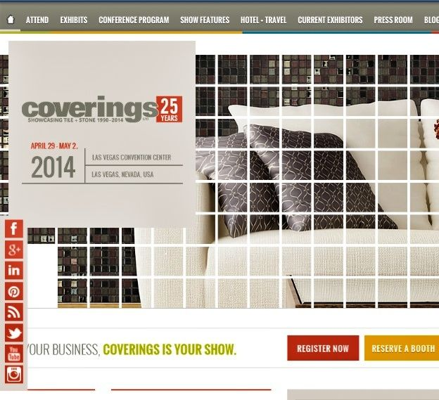 Counting down to #Coverings2014 excited! #coverings25