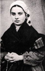 St. Bernadette. Lovely story about the saint praying the rosary alongside our Blessed Mother.