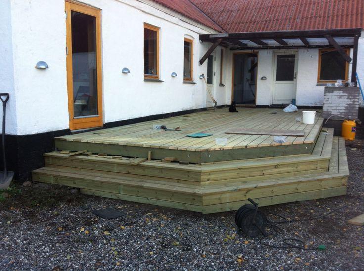 Ny terrasse