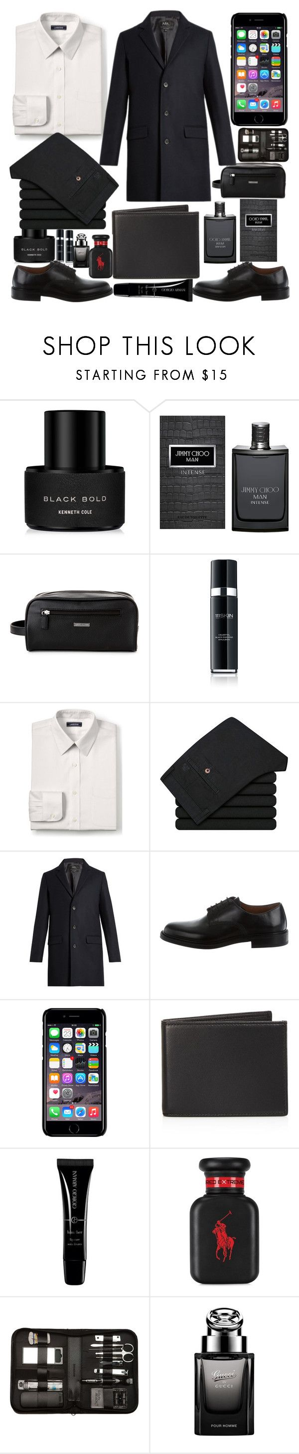 """Man's style"" by faesadanparkaia ❤ liked on Polyvore featuring Kenneth Cole, Jimmy Choo, Tommy Hilfiger, 111Skin, Lands' End, A.P.C., Givenchy, Off-White, The Men's Store and Armani Beauty"