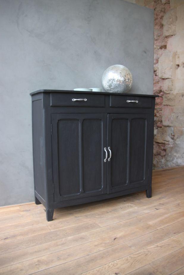 Les 25 meilleures id es concernant meubles vieux noirs sur for Relooking petit meuble