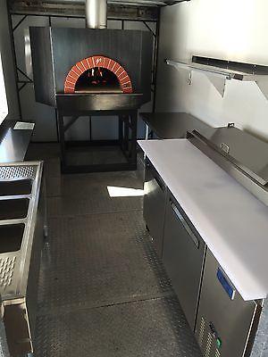 Wood Fired Brick Oven - Pizza Stock - Food Truck Business - MUGNAINI OVEN