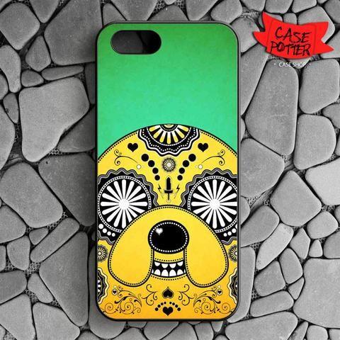 Adventure Time Sugar Skull iPhone SE Black Case