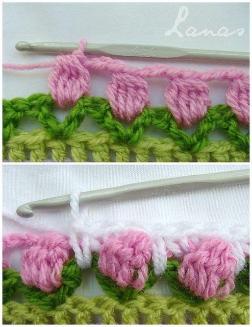 Ravelry: Fantasy Blanket pattern by Ana Contreras ༺✿ƬⱤღ  http://www.pinterest.com/teretegui/✿༻