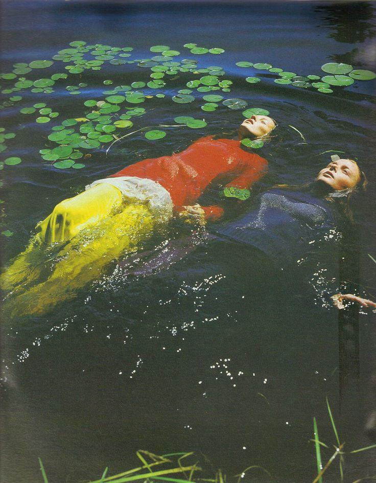 Kate Moss by Bruce Weber for W November 1997