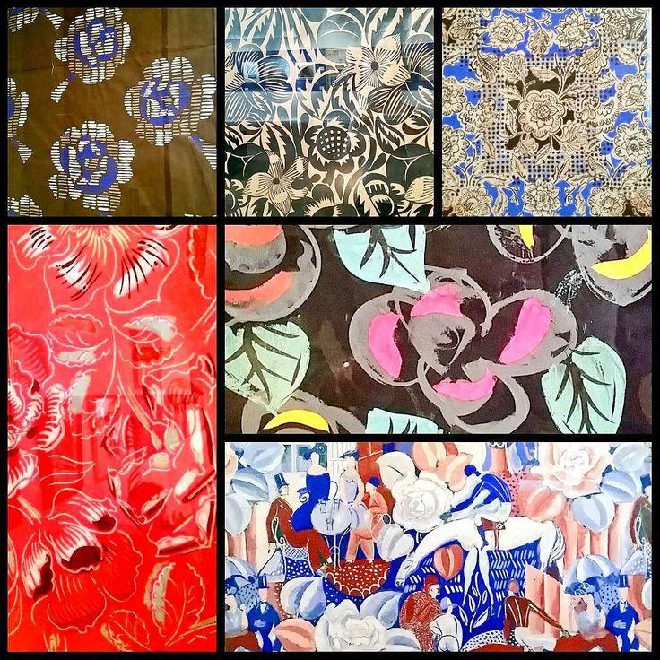 Quelques motifs de Dufy pour créations textiles