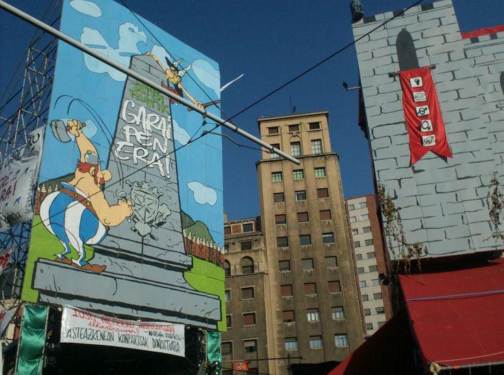 QUel notav di Obelix tifa Euskal Herria. (Bilbo, Astenagusia 2012). me medesimo @akaOnir