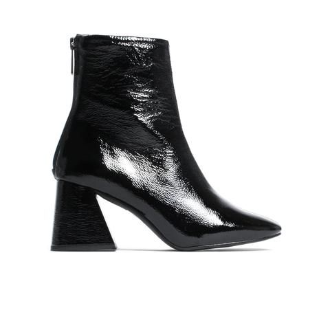 Nantes Black Naplak Leather