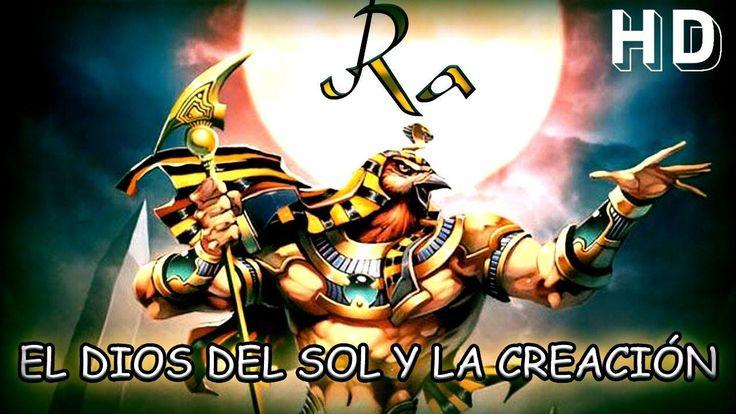 El Mito de Ra, dios del sol y la creación - Sello Arcano