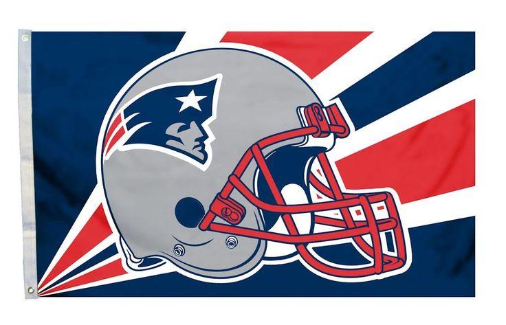 New England Patriots 3'x5' Helmet Design Flag