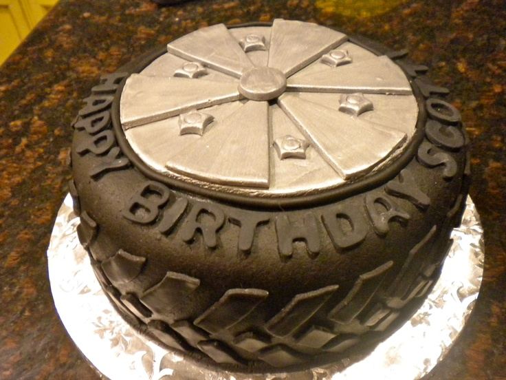 Tire Cake Cakes Cakes And More Cakes Or A Cupcake