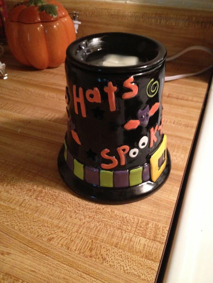 Halloween Scentsy burner