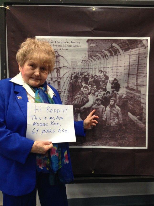 Holocaust survivor Eva Mozes Kor