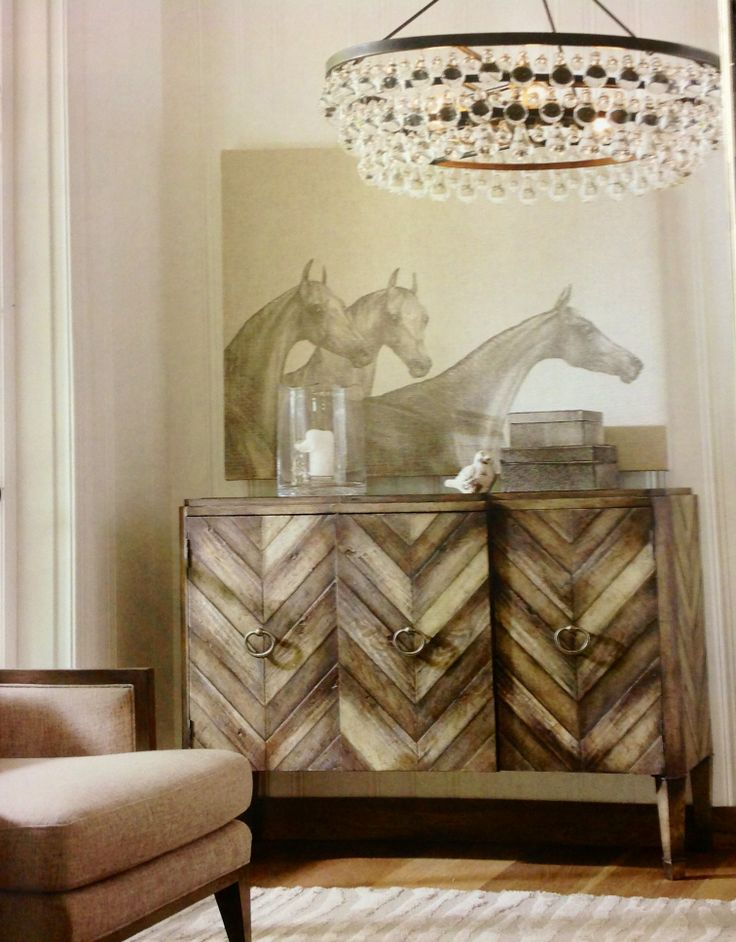 Shop For Hooker Furniture Chevron Console, And Other Living Room Cabinets  Furniture. Birch, Pine And Oak Veneers Combine To Create Multiple Tones In  A ...