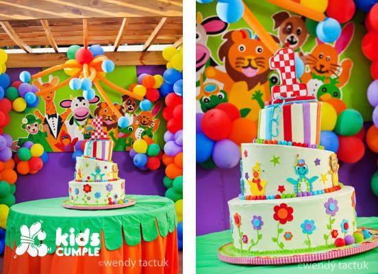 Baby Einstein Birthday Party Cumpleaños