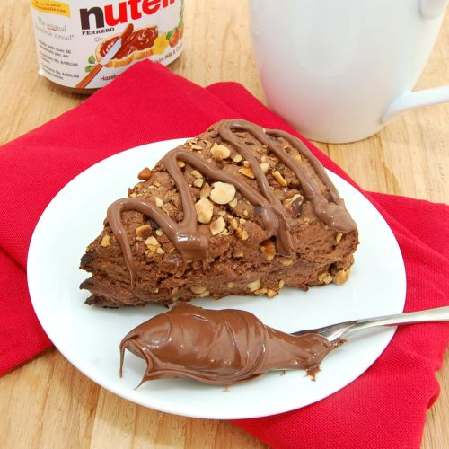 Nutella Scones