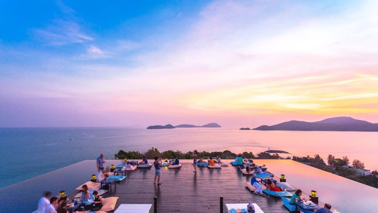 Baba Nest - Phuket Hotel Photos Gallery Luxury Restaurant Best Sea View Restaurant and Rooftop Bar in Thailand 5 Star Hotels Private Pool Villa.