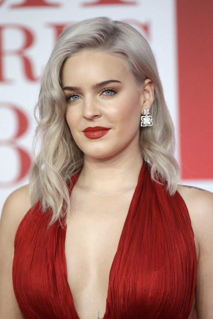 Anne Marie Photos Editorial Use Only In Relation To The Brit Awards 2018 Anne Marie Attends The Brit Awards 2018 Held At The Brit Awards Anne Maria Celebs