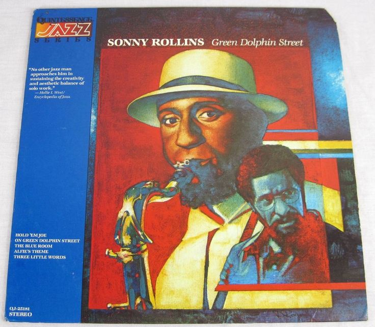 Sonny Rollins 1986 Green Dolphin Street Vinyl LP Compilation Hard Bop Jazz Music #HardBopJazz