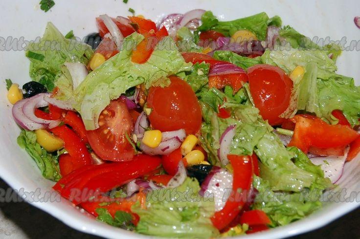 Салат вощной с картошкой пай