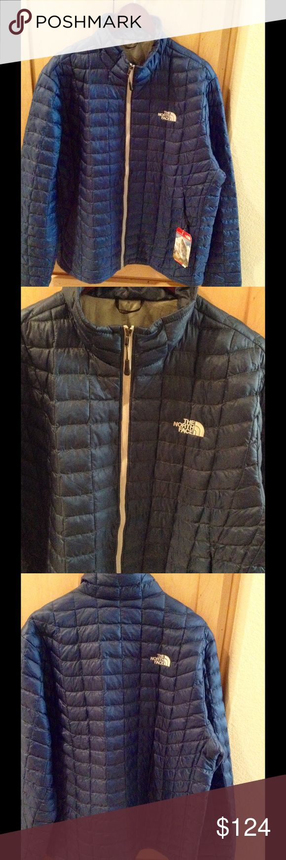 REDUCED!NEW The North Face Men's Thermoball Jacket Brand new Men's Thermoball Jacket in XL in Navy color.  No trade.  Price is firm. The North Face Jackets & Coats