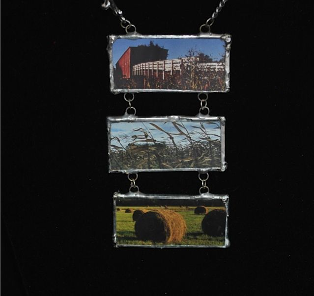 Bridges of Madison County Necklace - Two Roads