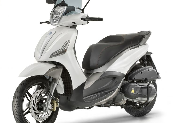 Motor Scooters | Italian Scooters | Piaggio Scooters :: Scooter :: Bv 350 abs