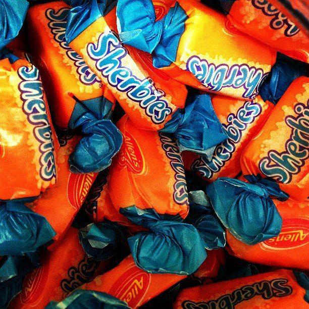 Allens Sherbies.. Sherbet Chew Candy.. Wedding Lolly Buffet