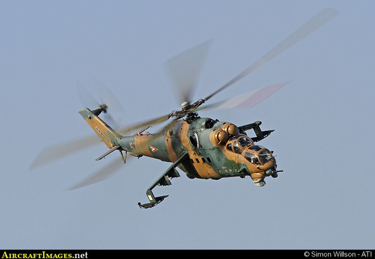 Mil Mi 24 Hind russian attack Helicopter